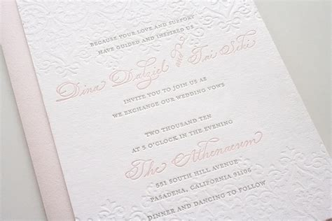 grey and pink wedding invitation cards pink gray wedding invitations