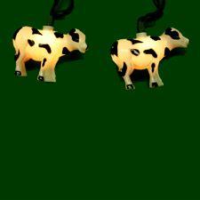 cow lights cow novelty light set