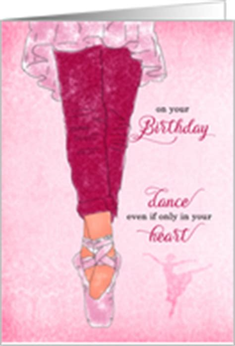 Happy Birthday Wishes For A Dancer Dance Birthday Cards From Greeting Card Universe