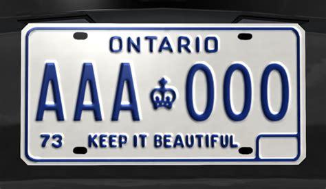 License Plate Lookup Ontario 1973 Ontario License Plate Beamng