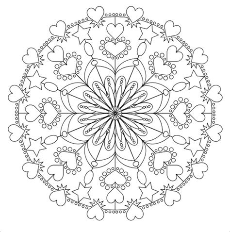 love mandala coloring pages 21 mandala coloring pages free word pdf jpeg png