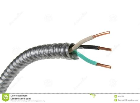 white electrical wire electrical wire stock photography image 5024172