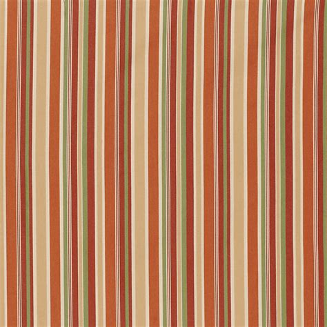 Ballard Designs Reviews seneca stripe rust sunbrella fabric by the yard