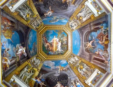 Vatican Museum Ceiling Paintings by A Day At The Vatican Loriloo