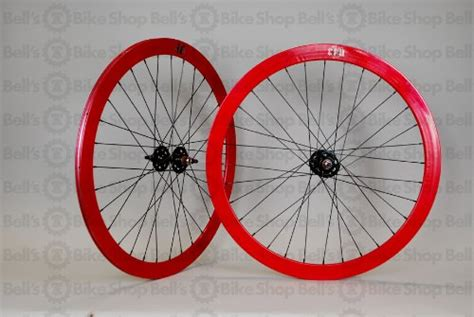 Rims Velocity Fusion 32h 700c White wheel master velocity 700c fixie wheel set bolt on 32h martins alvesrig