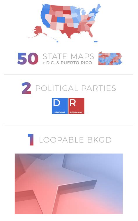 templates after effects envato election map lite news envato videohive after
