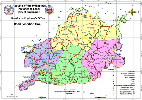 road conditions map road condition map 171 ppdo bohol