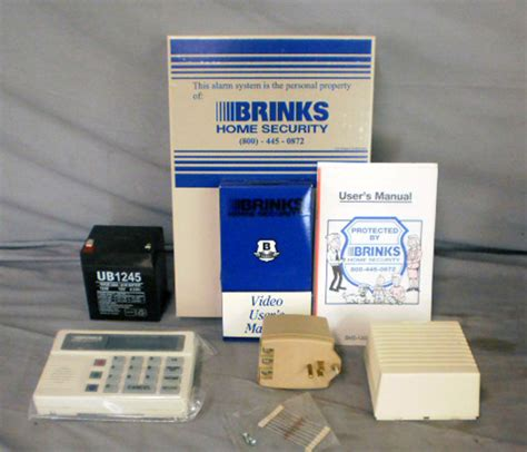 brinks home security bhs 2000d system keypad alarm