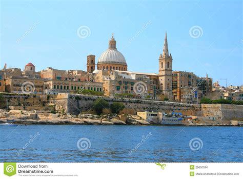 porto la valletta malta porto la valletta di malta fotografia stock immagine di