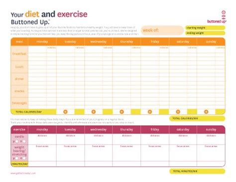blank meal planner app free printable diet exercise worksheet but if you have