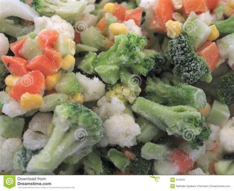 frozen vegetables stock photo image 411610