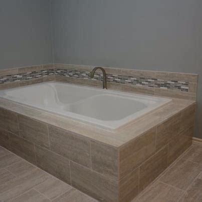 bathtub deck cream travertine tub deck provided by texas counter