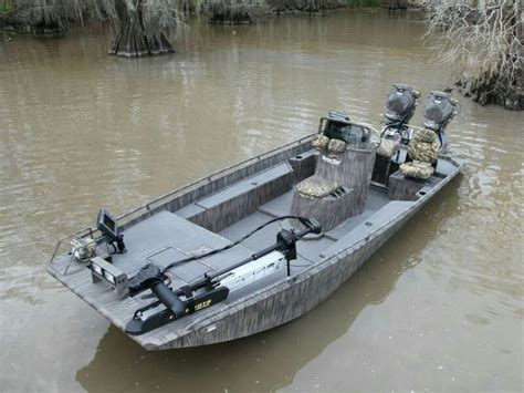duck hunting jon boat gator tail pontoon and shallow water boats pinterest