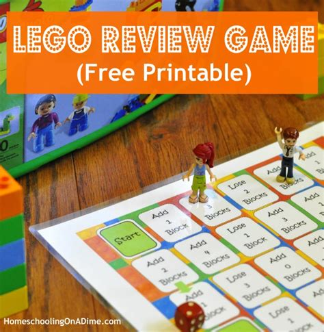 printable lego board games lego game board printable for memory review work