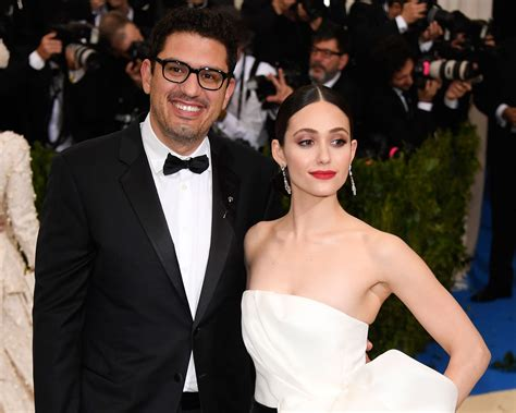 emmy rossum is married to emmy rossum shares first wedding photos after marrying sam