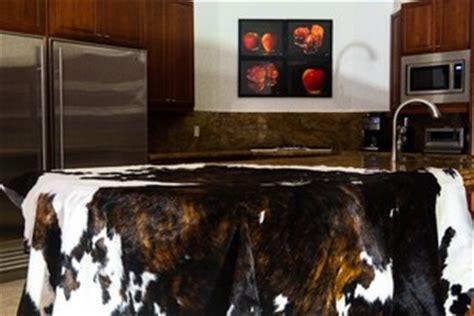 Cowhide Rugs Sydney - cowhide rug in the kitchen should you ecowhides
