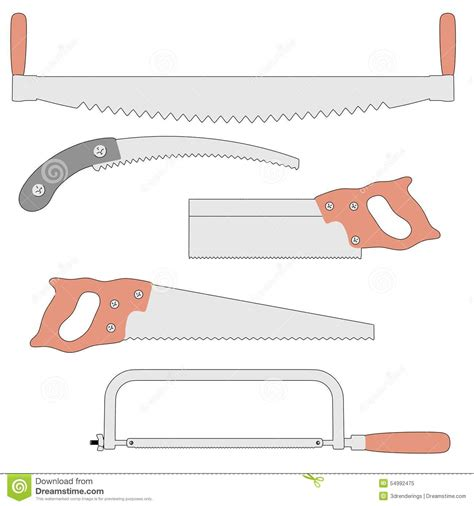 saws payment saws stock illustration image 54992475
