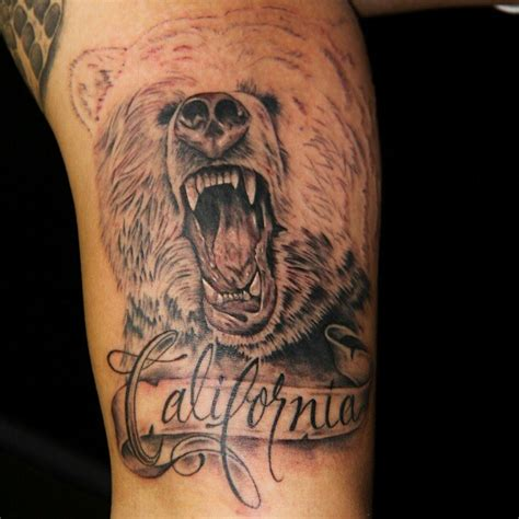 california bear tattoo designs tattoos and designs page 220