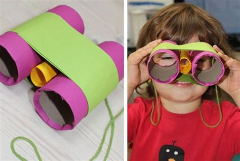 Crafts Out Of Toilet Paper Rolls - recycled toilet paper rolls kid crafts recycled things