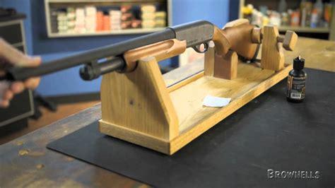 wooden gun cradle plans colin