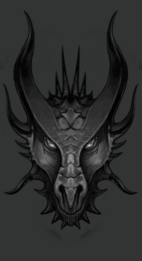 dragon face tattoo best 25 drawing ideas on
