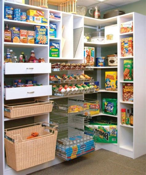 Kitchen Food Storage Ideas by Pantry Storage Ideas New Home Interior Design Ideas