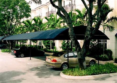 Delray Awning by Parking Lot Awning Cover Delray Awning Inc