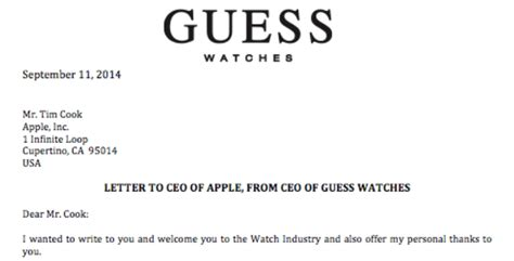 email format guesser guess watches ceo pretends she welcomes the apple watch as