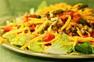 Summertime salads start with taco salad ali in the valley