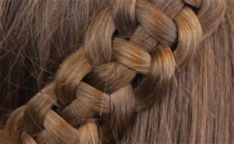 4 strand french braid easy hairstyles cute girls 4 strand slide up braid pullback hairstyles cute girls