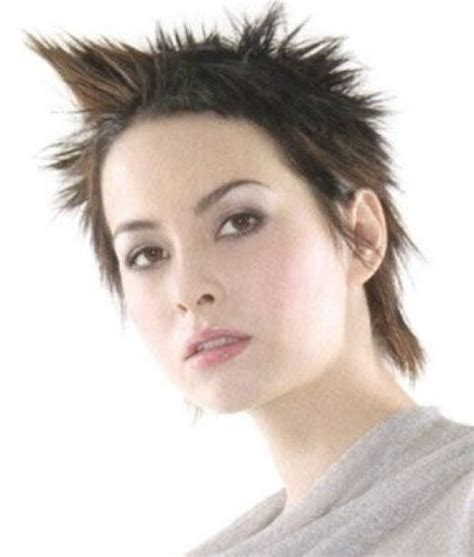 best way to spike female hair trendy for short hairstyles short spiky hairstyles for women