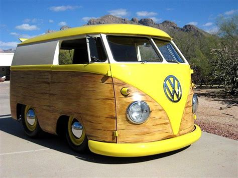 new volkswagen bus yellow yellow quot woody quot vw cervan nice set of wheels for