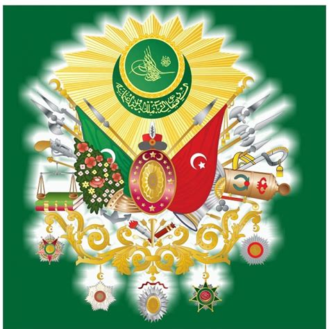 ottoman symbol ottoman symbol green badge