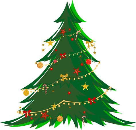 christmas decorations clipart free tree clip images inspirationseek