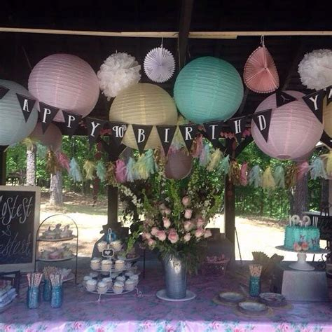 backyard birthday decorations outdoor pavilion birthday decorations great idea must try pinterest of