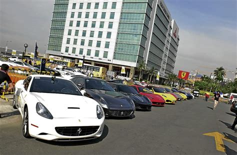 Resorts World Manila hosts the 1st Supercar Day and Fun