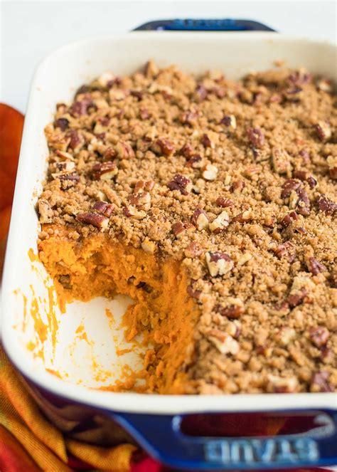 sweet potato casserole recipe simplyrecipes com