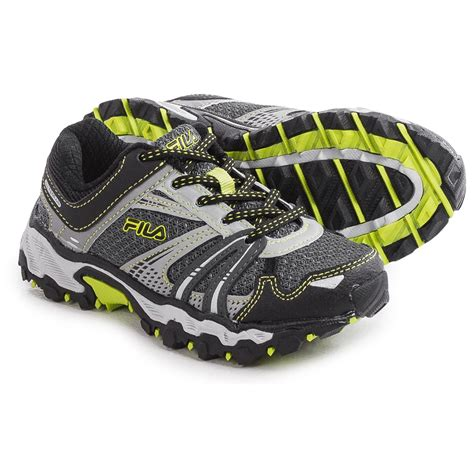 fila trail running shoes fila tko tr trail running shoes for and big