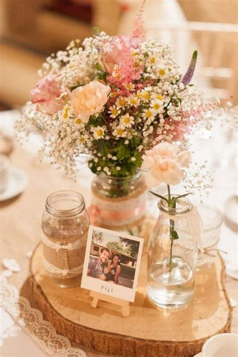 table centerpiece ideas 100 country rustic wedding centerpiece ideas 2517546
