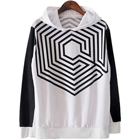 Jaket Hoodie Sweater Exo Overdose exo k m overdose hoodie sweater korea seoul concer xiumin t shirt l black middle