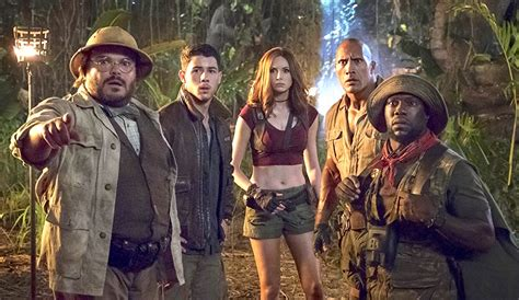 what is on at the movies jumanji welcome to the jungle by dwayne johnson jumanji welcome to the jungle movie review okay sequel banks on its leads the reel word