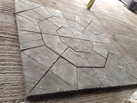Octagon Patio Pavers Octagon Not Circle Paving Patio Slabs Bradstone 2 25m Milldale Antique Grey Gardens Grey And