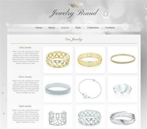 Jewelry Websites by How To Choose A Jewelry Website Design That Converts