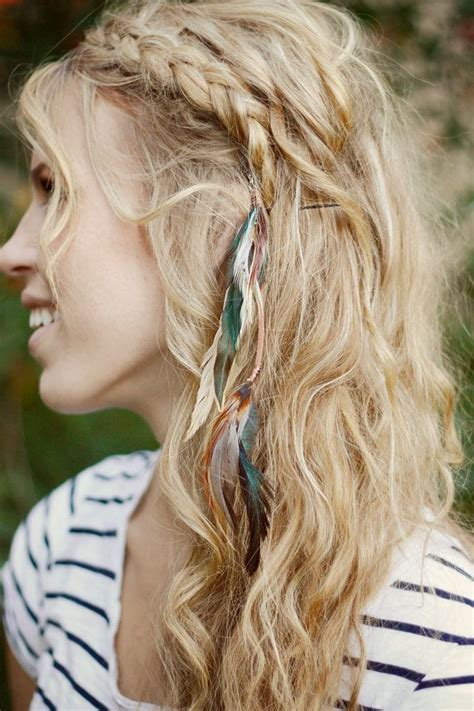 feathered hair braids locks and braids a collection of hair and beauty ideas to
