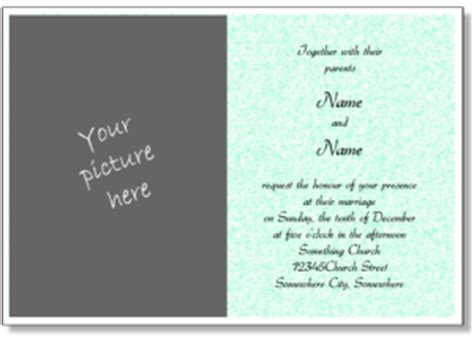 church wedding invitation card template printable wedding invitations free wedding