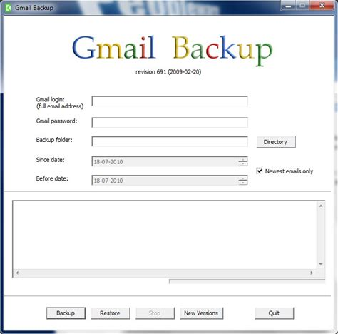gmail backup gmail backup 0 107 pplware