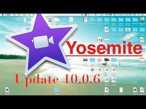 tutorial imovie os x yosemite imovie update 10 0 6 yosemite youtube