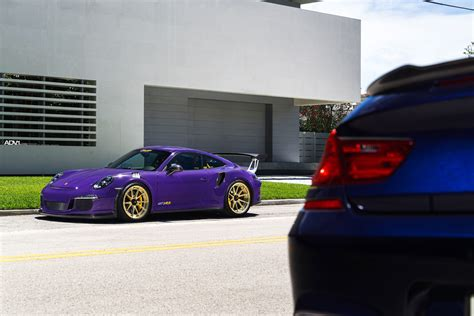 porsche purple ultraviolet purple porsche gt3 rs adv5 2 m v2 advanced