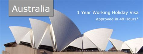 australian visa australia 1 year working visa