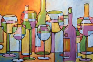kitchen paintings abstract wine dining room bar kitchen art time to